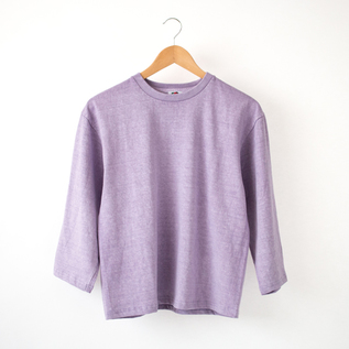 CREW NECK LONG SLEEVE T-SHIRT
