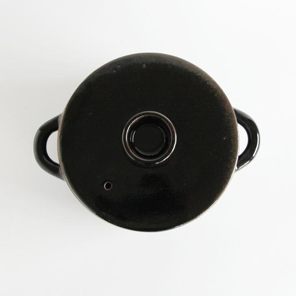 真っ黒なスタイリッシュな伊賀耐熱スープポット