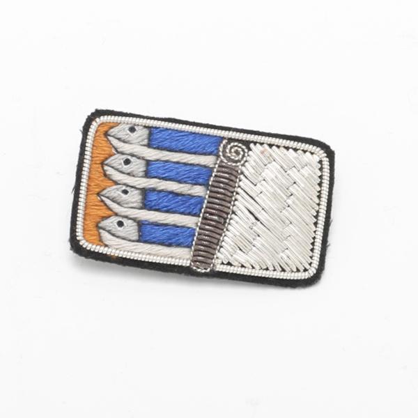 ブローチ CLASSIC sardines