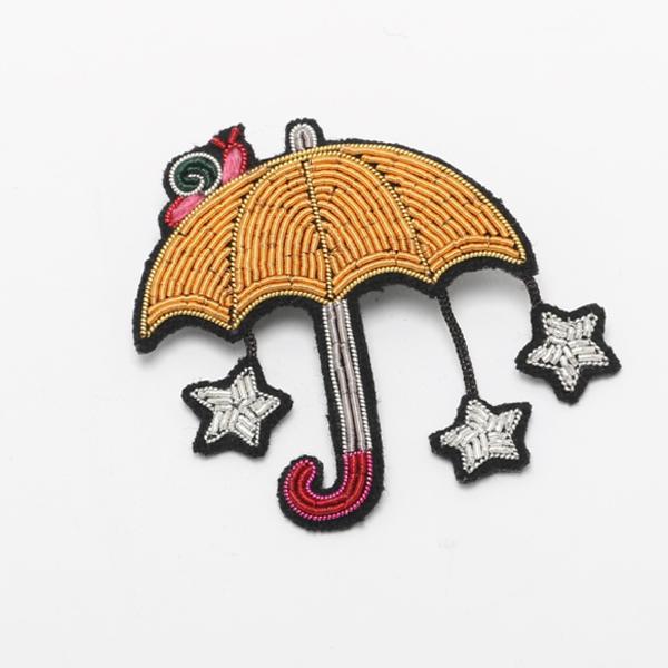 ブローチ starry umbrella