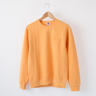 FRUITE DYED CREW NECK SWEATSHIRT