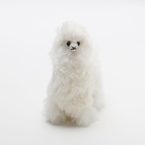 Baby Alpaca Fur Alpaca-White