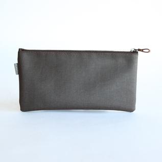 Yaku Sugi canvas pouch 25cm by 12cm