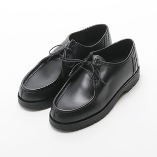 LEATHER SHOES PADRE BLACK
