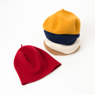 ROLLED UP BERET