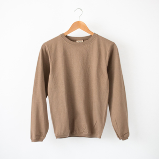 CREW NECK LONG SLEEVED TOP