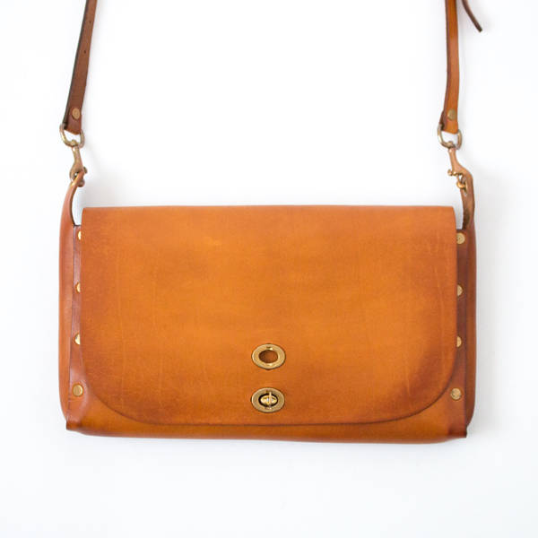 LEATHER 3WAY サドルバッグ(MUSTERD CAMEL)