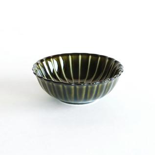 ぎやまん陶 浅小鉢