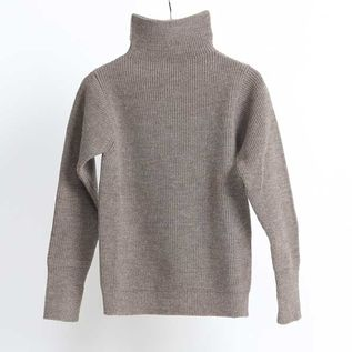 SAILOR TURTLE THE NAVY TURTLENECK Natural Taupe