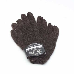 BASKET WAVE GLOVE  HABD KNIT WOMEN