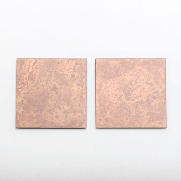 copper コースター 2枚セット(pink)