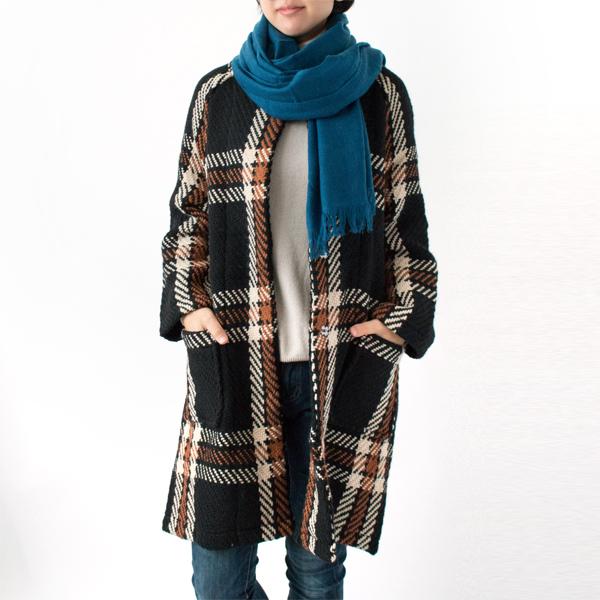 PEACOCK BLUE/モデル身長:158cm