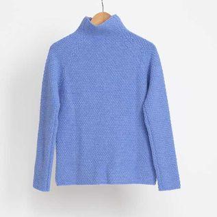 シードステッチモックネックセーター