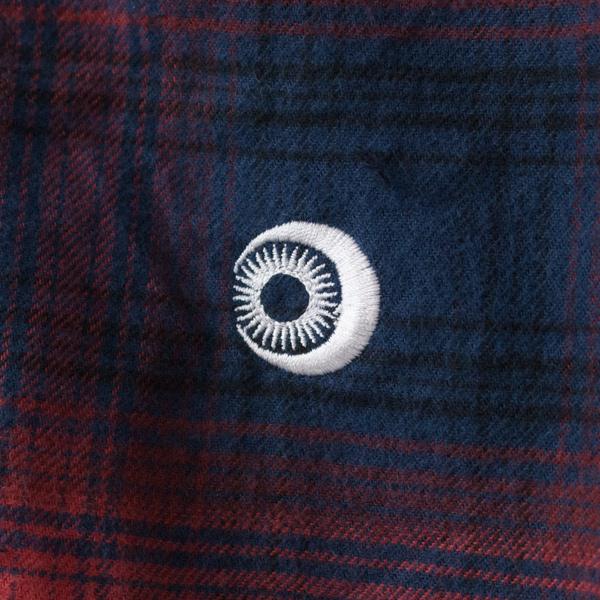 トップス裾 刺繍