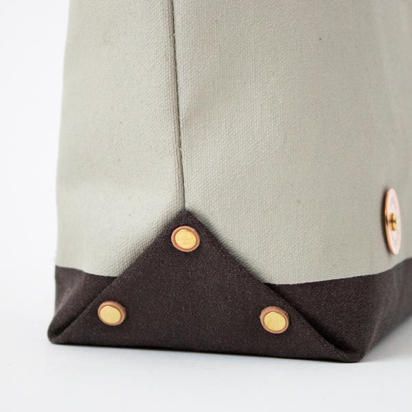底マチ部分にも真鍮パーツを使用(NT/NIMBUS/CHOCO)