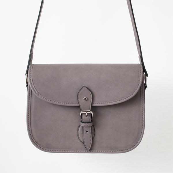 フィールディングカートリッジバッグ shoelether Grey