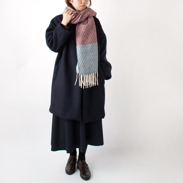ボルドー/ブルー(モデル身長:167cm)