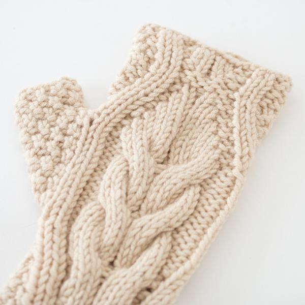 一つ一つ丁寧に手編みされています