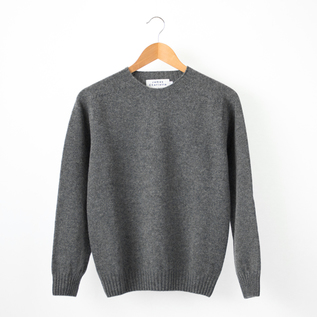 CREW NECK SWEATER DERBY GREY