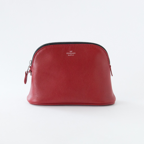 ZIP POUCH/M(RED)