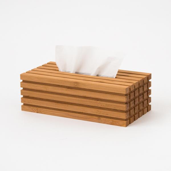 竹のティッシュボックス