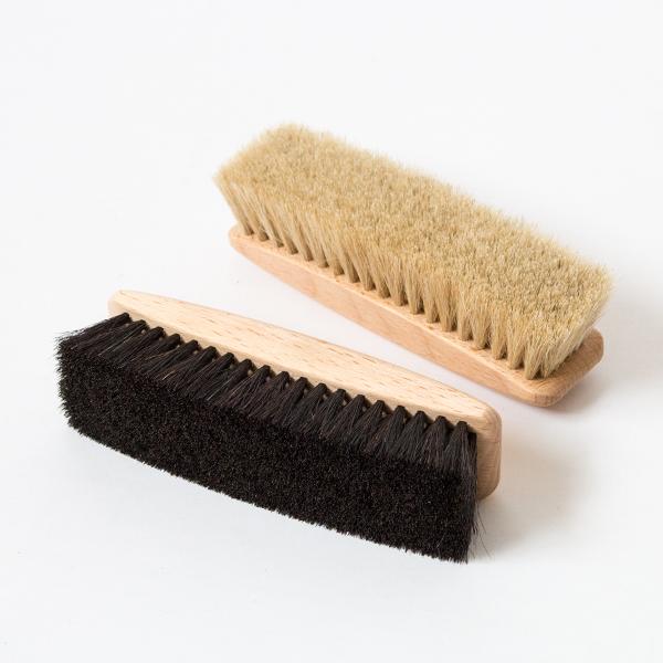 8点セット 汚れ落し磨き用ブラシ(馬毛)×2