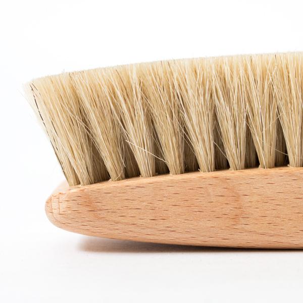 8点セット 汚れ落し磨き用ブラシ(馬毛) アップ