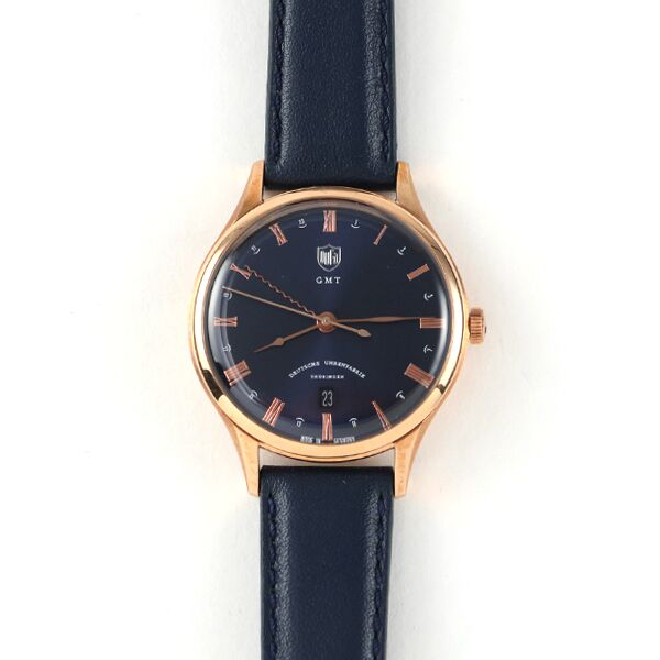DUFA 腕時計 WEIMAR GMT BLUE NAVY