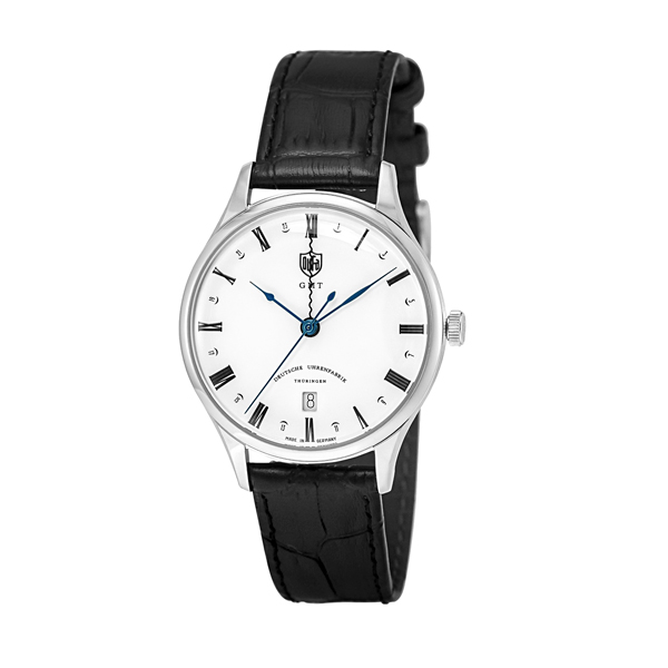 DUFA 腕時計 WEIMAR GMT WHITE BLACK