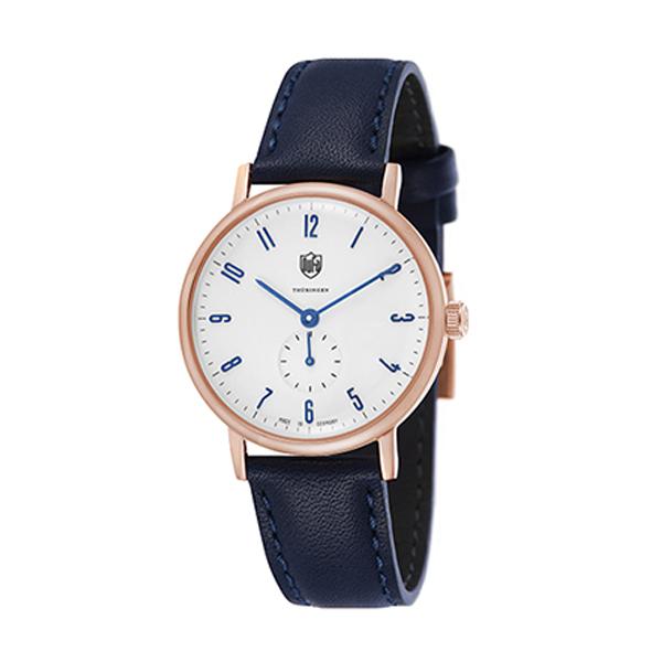 DUFA 腕時計 GROPIUS LEATHER WHITE-NAVY