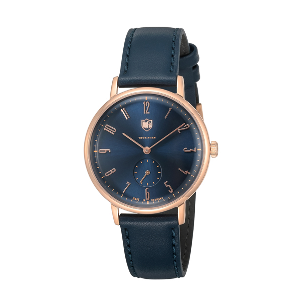 DUFA 腕時計 GROPIUS LEATHER NAVY-NAVY
