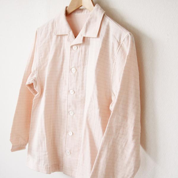 二重織りの柔らかなパジャマ