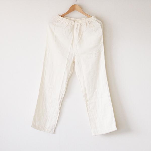 ダブルガーゼパジャマ ホワイト(パンツ)