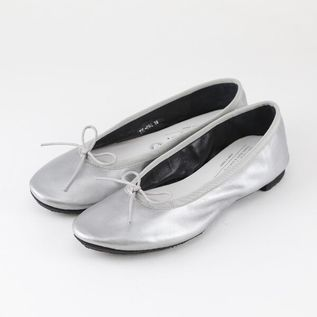 TRAVEL SHOES WATERPROOF BALLET FLATS SILVER
