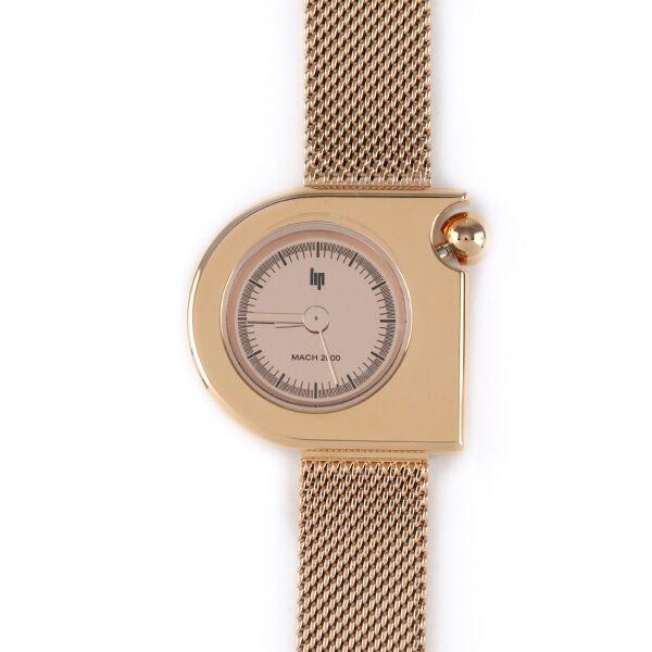 LIP 腕時計 MACH mini  MESH GOLD
