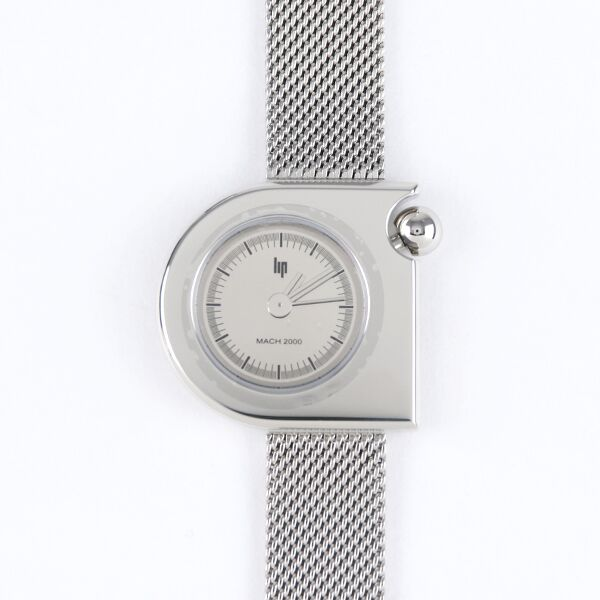 LIP 腕時計 MACH mini MESH SILVER