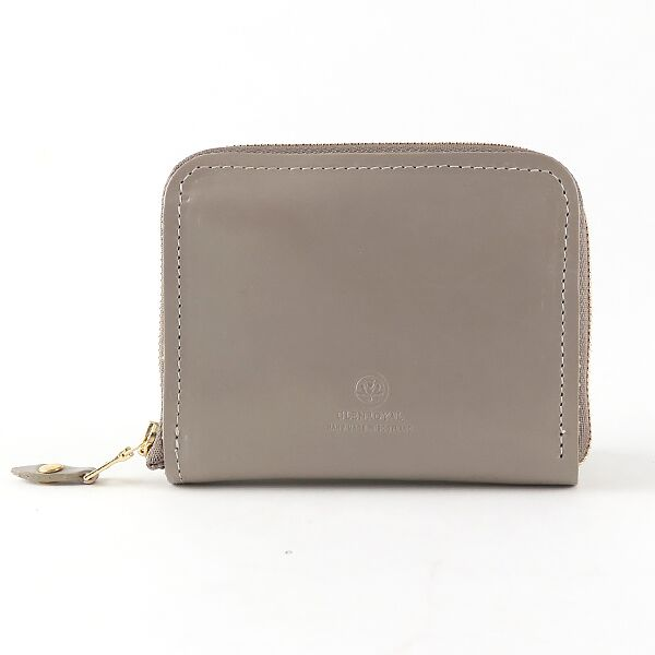ZIP AROUND SMALL WALLET TAUPE
