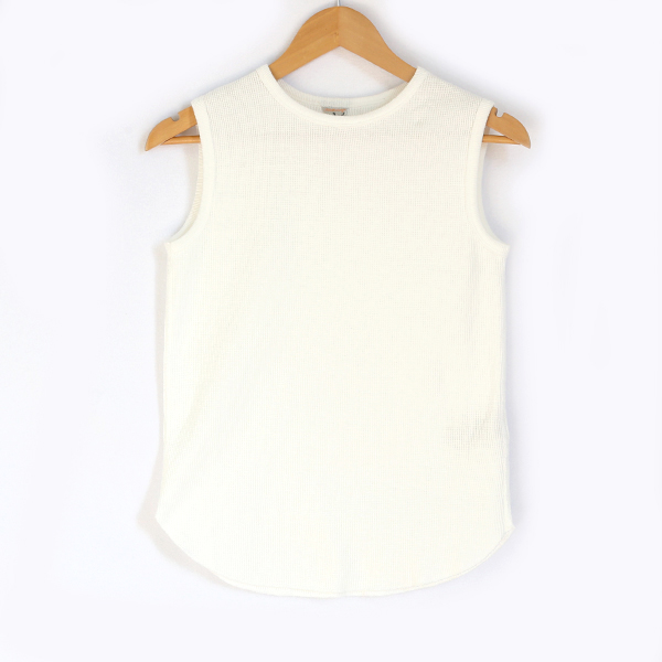 RITA ノースリーブシャツ(WHITE)