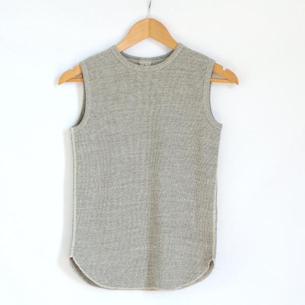 RITA ノースリーブシャツ(MELANGE)