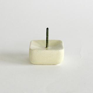 陶製燭台 RIPPOH 乳白
