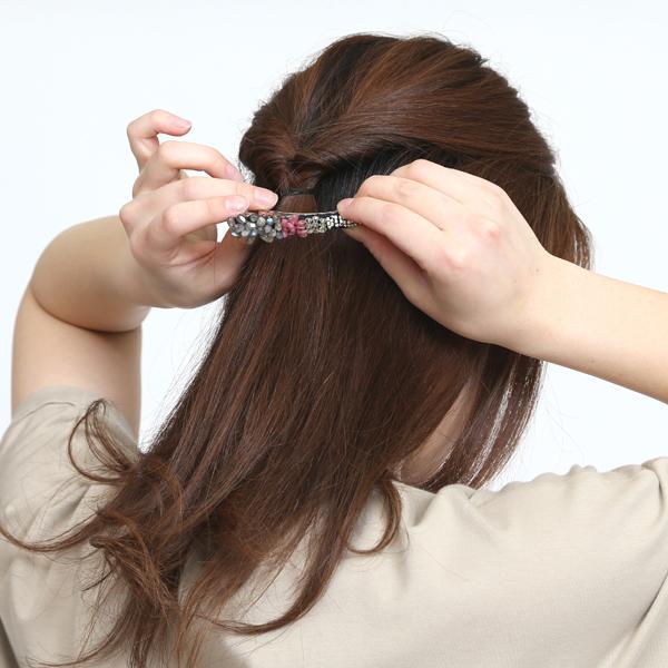 ショートヘア〜ロングヘアの方まで、幅広くおすすめのサイズ