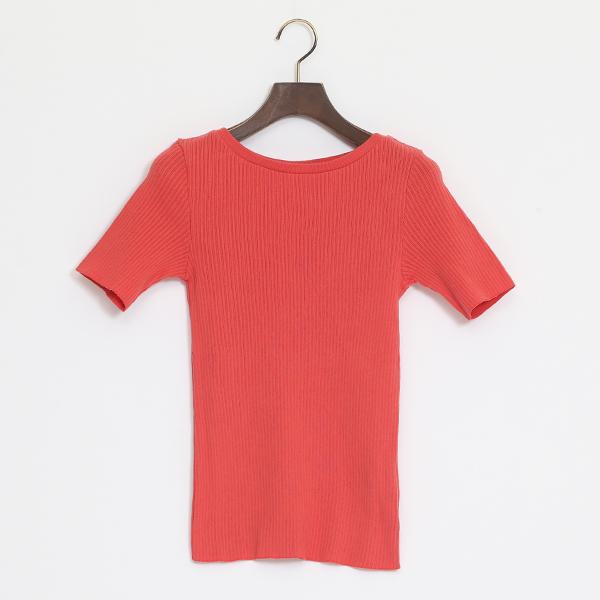 GRACE クルーネックTシャツ(VINTAGE RED)