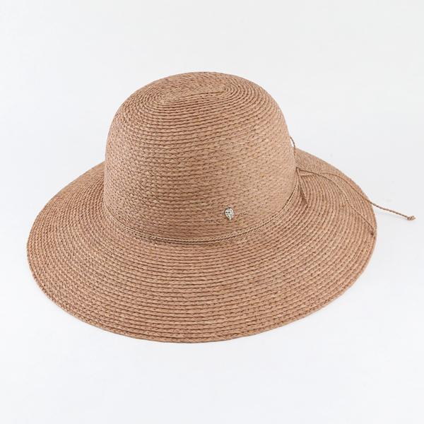 ラフィア帽 Delphina Nougat