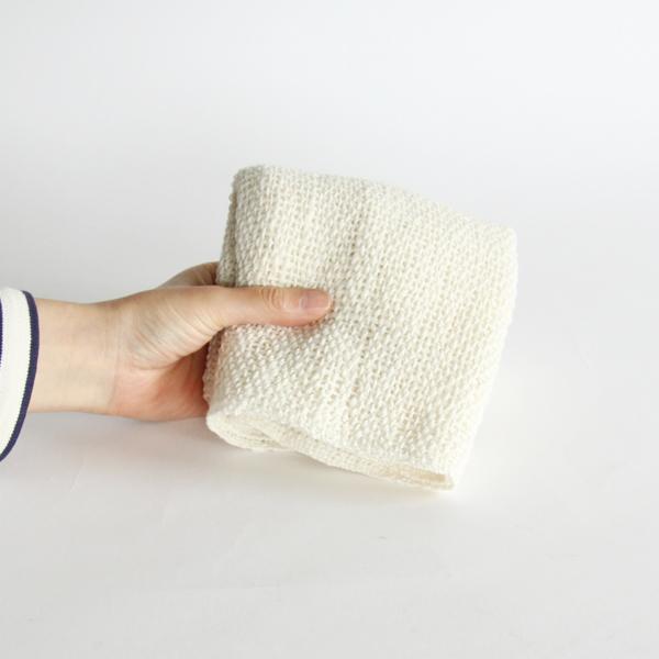 使い心地の良い和紡績あら織りタオル