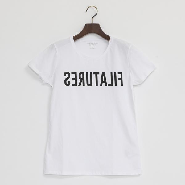 FILATURES Tシャツ(BLANC)