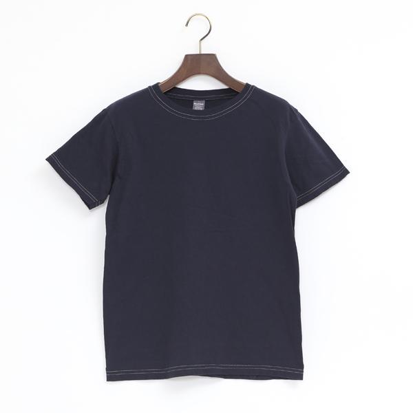 4.6oz クルーネック ショートスリーブ Tシャツ(MARINE)