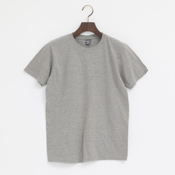 4.6oz クルーネック ショートスリーブ Tシャツ(MILKY GREY)
