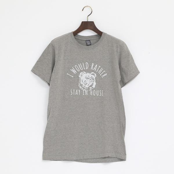 HOUSE 4.6oz CREW Tシャツ(MILKY GREY)