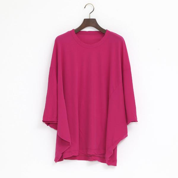 コズモラマ 切り替えTシャツ(PINK)