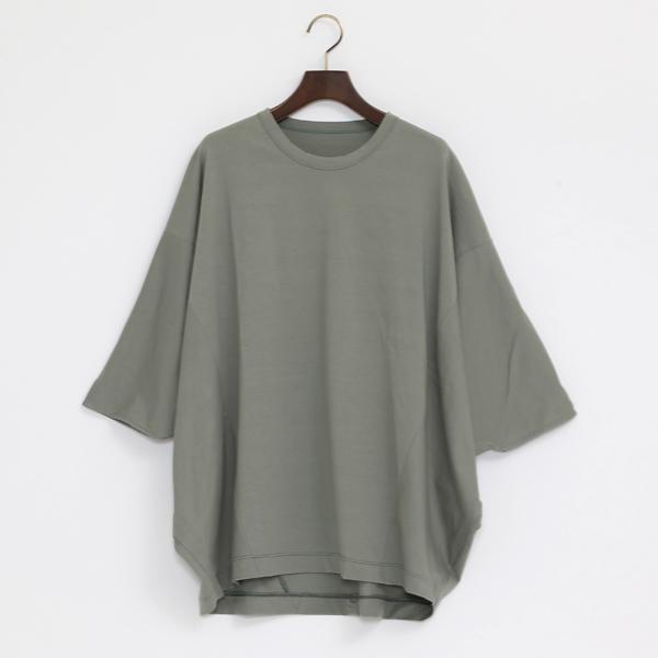テクノラマ 切り替えTシャツ(SMOKE MINT)